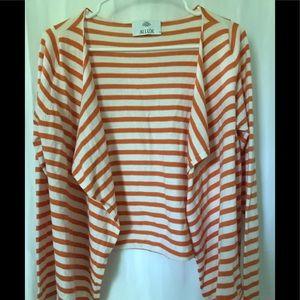Allure shrug women's S small Cashmere Orange Top